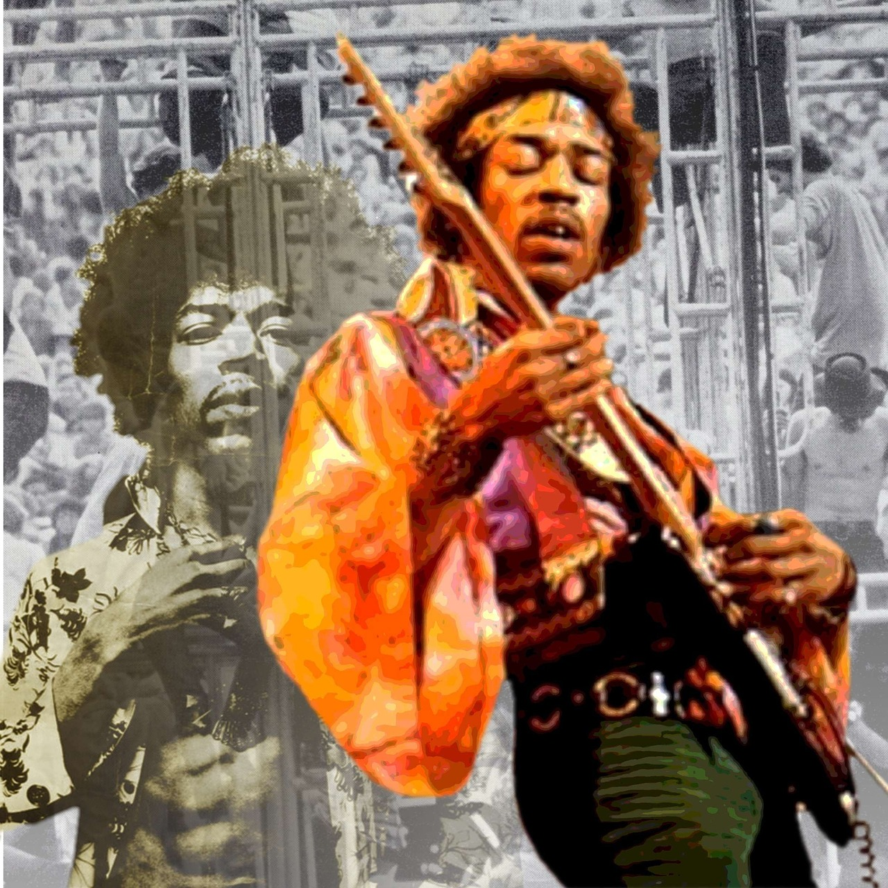 Jimi Hendrix Spiller Guitar